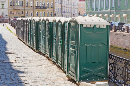 luxury portable toilet rental cost|